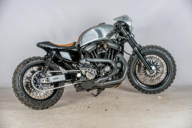 Harley Davidson Sportster 48 By Shaw Speed And Custom Hell Kustom
