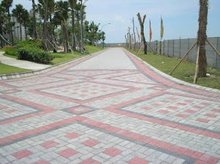 pasang paving block