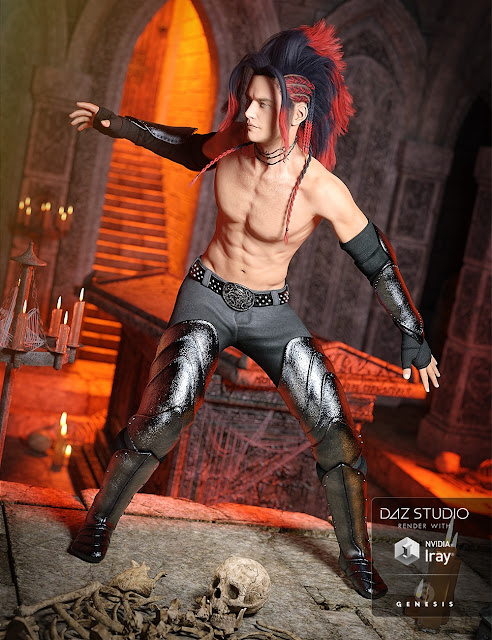 Hellion Outfit for Genesis 3 Male