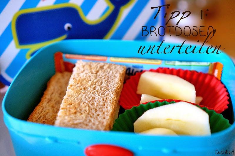 Bentobox Frühstücksbox füllen