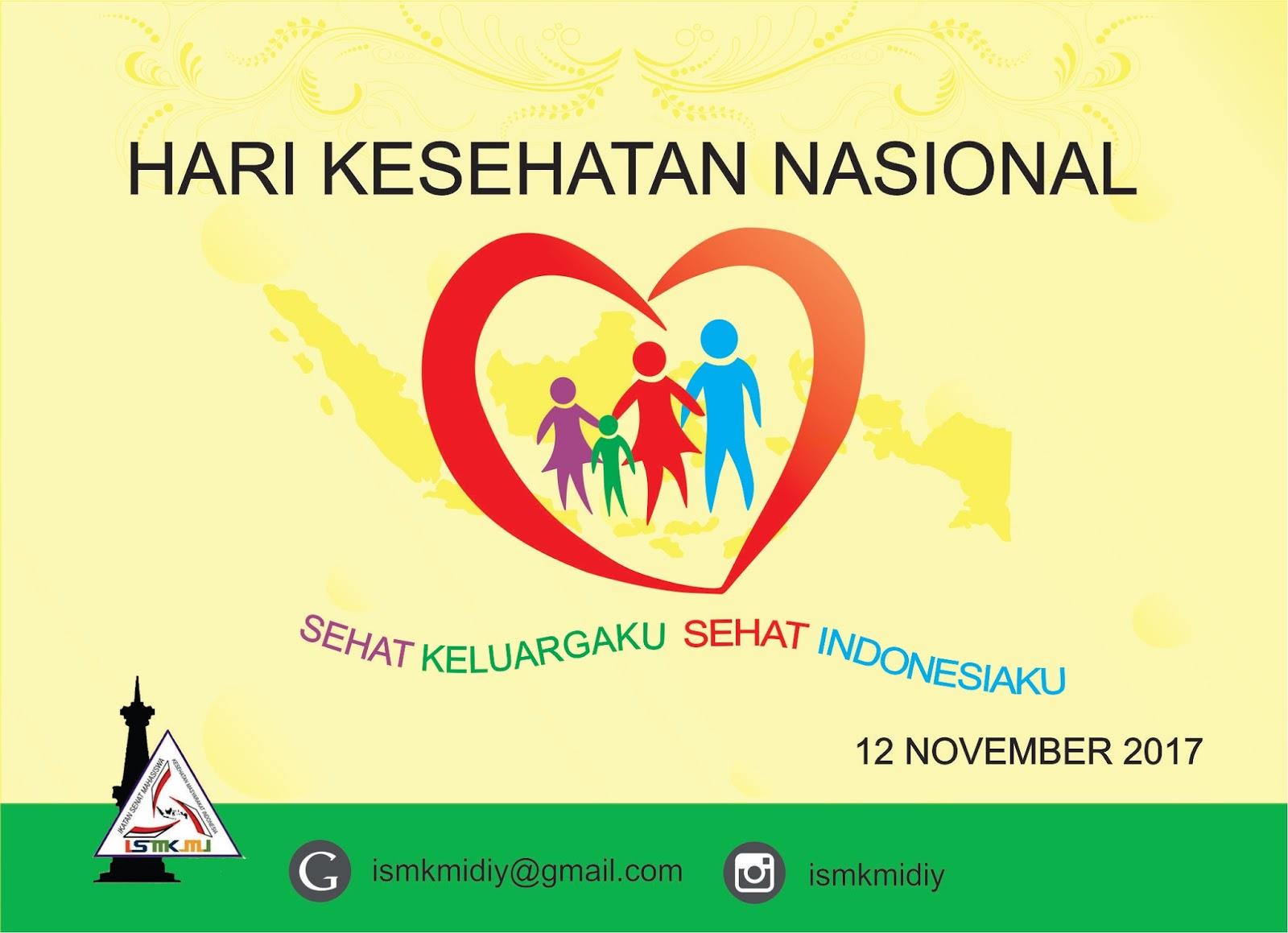 Gambar Poster Hari Kesehatan Nasional Ide Poster