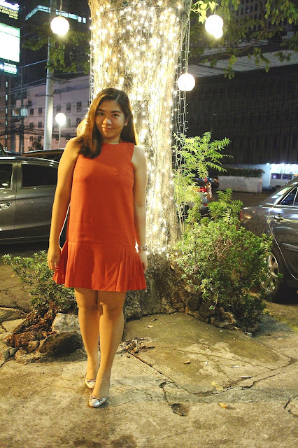 Fall Fashion, Fall Style, Fall Colors, Orange, Orange Dress, Ruffles, Parfois, Robinsons Department store, Aizha Guevarra, Life of A, Style, Fashion, Style Blogger, Fashion Blogger
