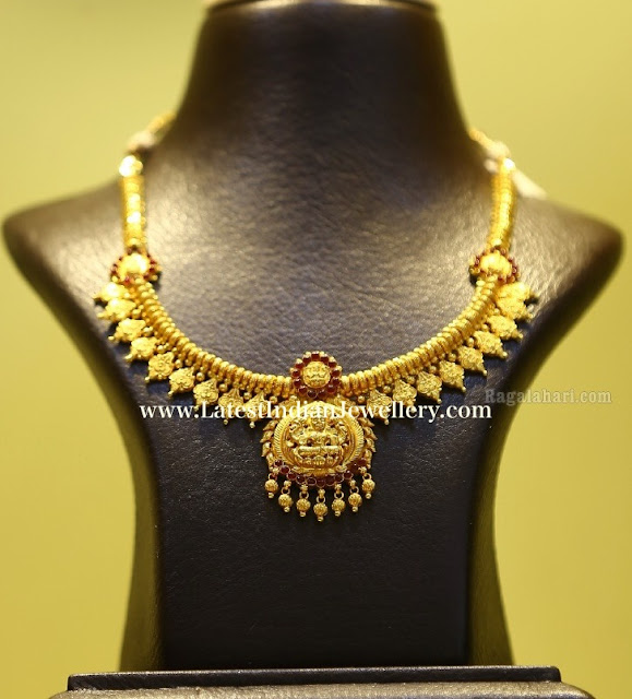Lightweight Lakshmi Necklace