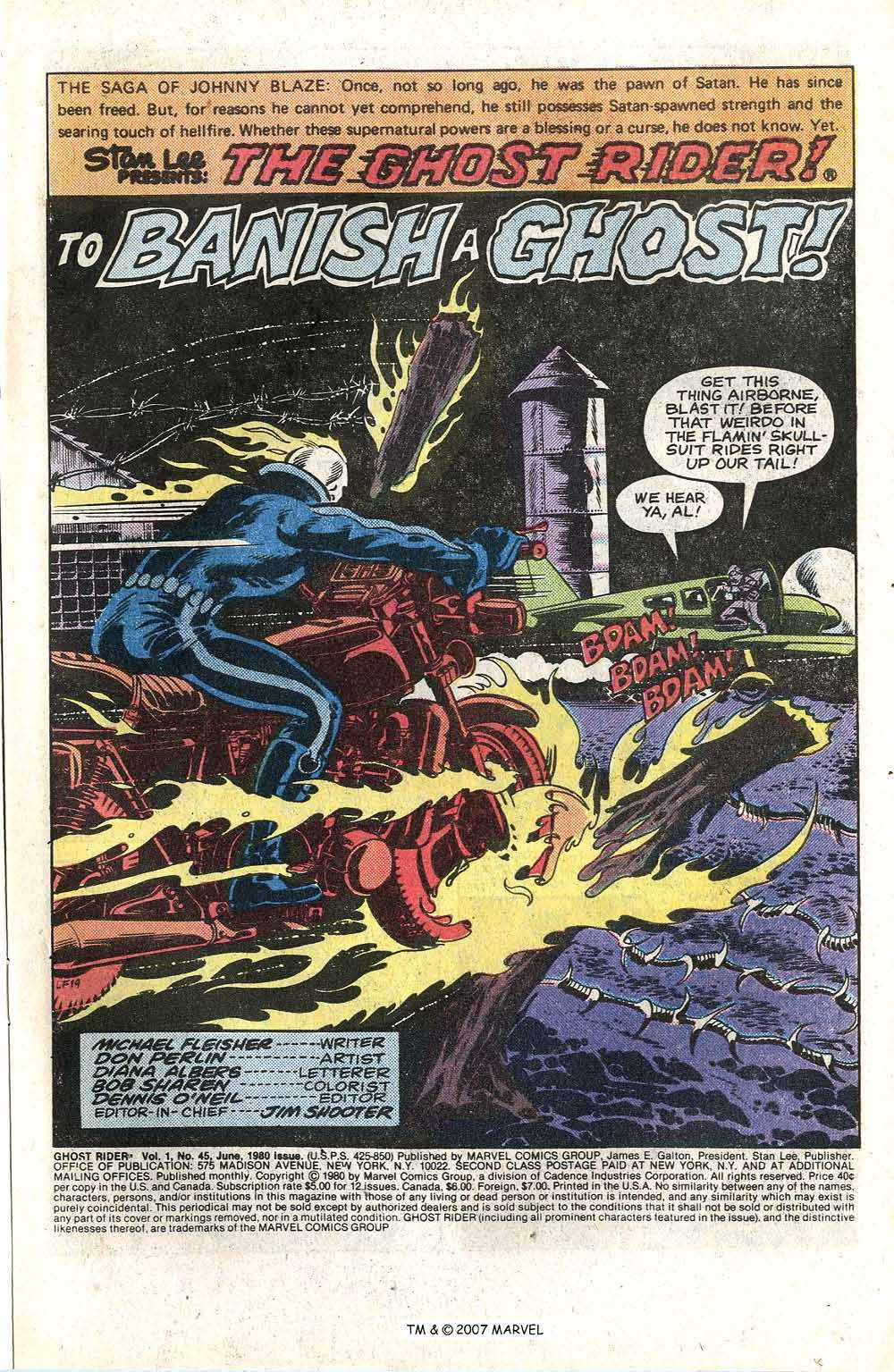 Ghost Rider (1973) Issue #45 #45 - English 3