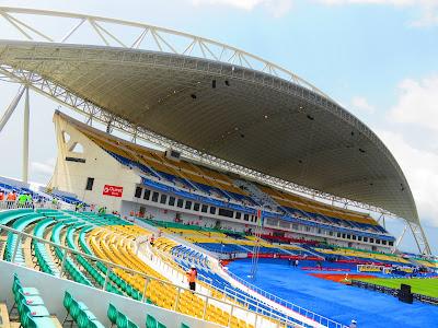 Stade de l'Amitié, Libreville, Gabon.