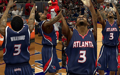 NBA 2K13 Atlanta Hawks Jersey Pack
