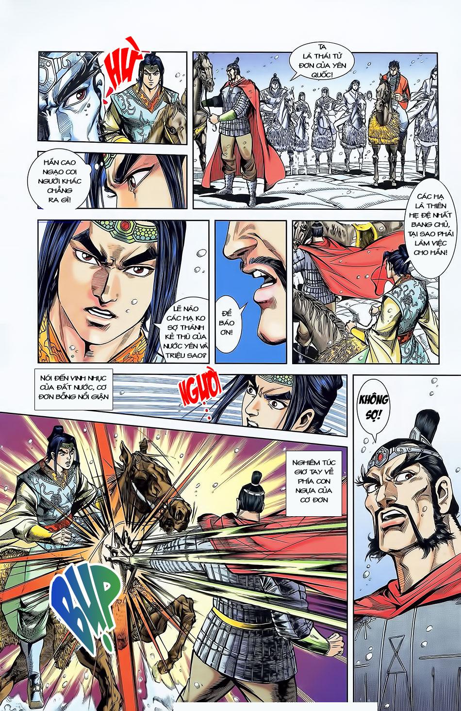 Tần Vương Doanh Chính chapter 4 trang 15