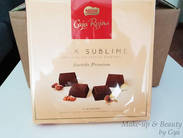 Surtido premium Caja Roja Milk Sublime Degustabox Diciembre ´18