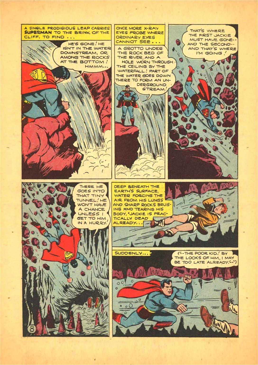 Read online Action Comics (1938) comic -  Issue #66 - 9