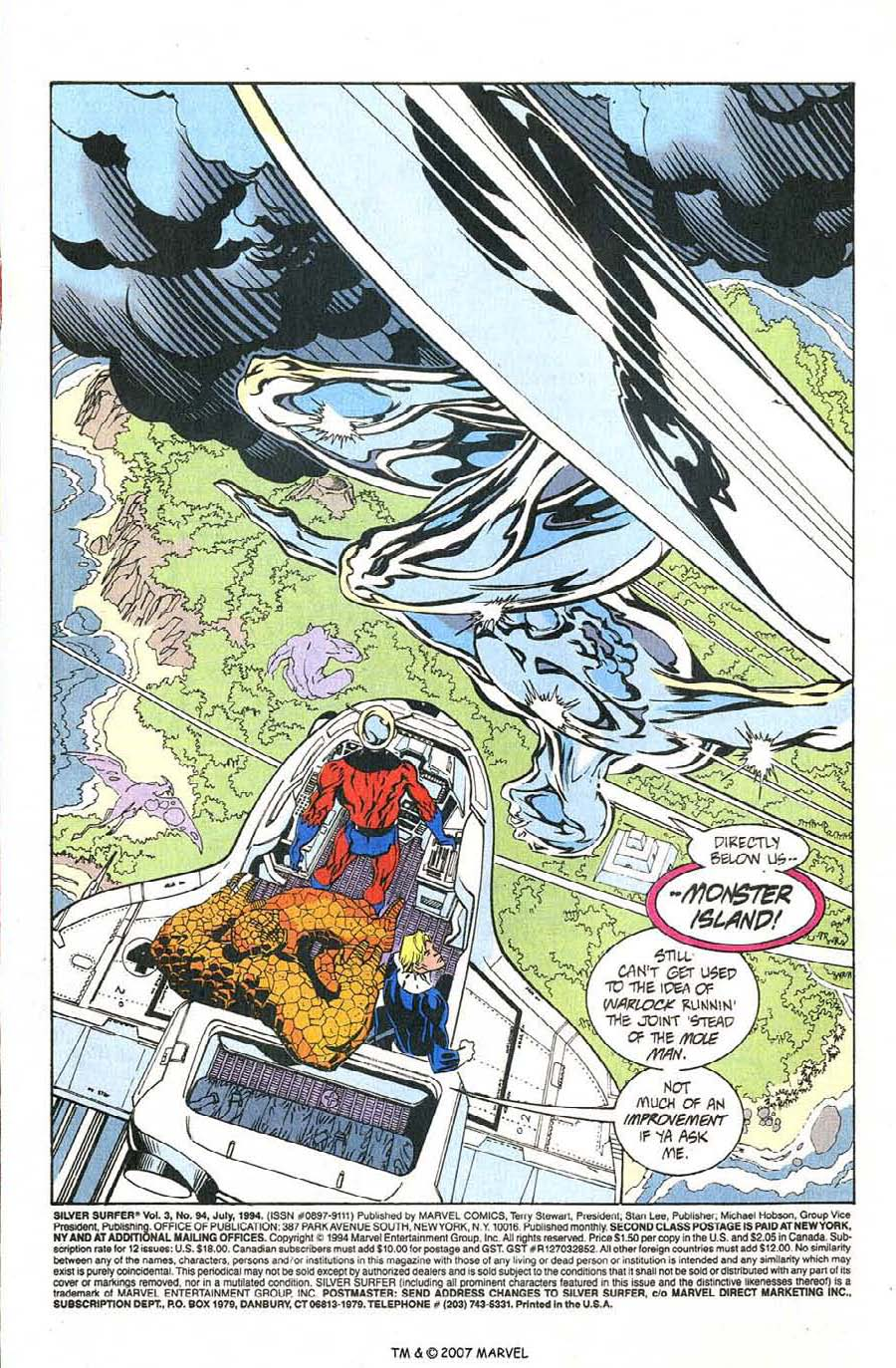 Read online Silver Surfer (1987) comic -  Issue #94 - 3