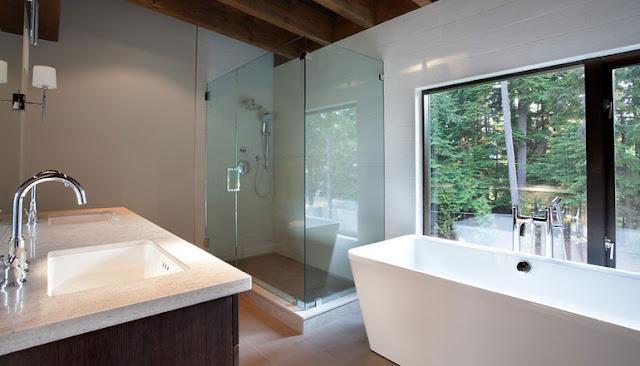 Hogares frescos casa con interior minimalista dise ada - Casa minimalista interior ...