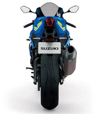 2017 Suzuki GSX-R1000 Back view HD Image