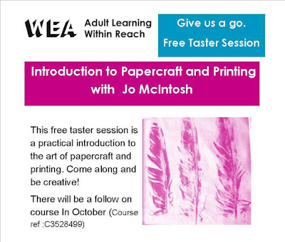 Papercraft and Printing Workshop - St Ives Cornwall