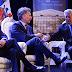 Macri compartió una charla con el presidente Sebastián Piñera y con el premio Nobel de Literatura, Mario Vargas Llosa