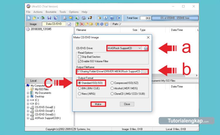 Tutorial cara membuat file iso dari kaset dvd