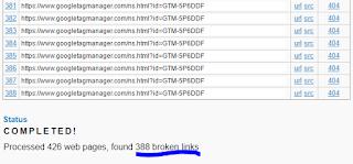 terdeteksi link broken
