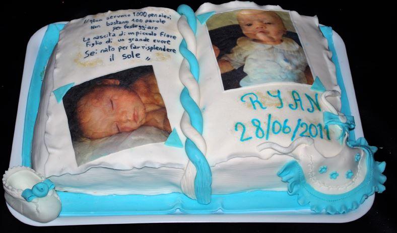 Eccezionale Torte Battesimo Bimbo Particolari PP59 » Regardsdefemmes VB25