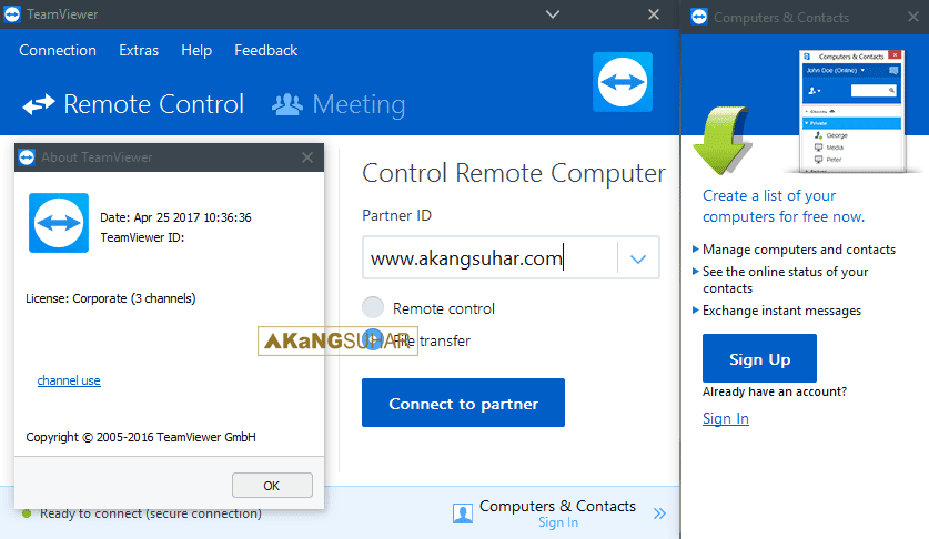 Download TeamViewer Corporate Full Patch terbaru
