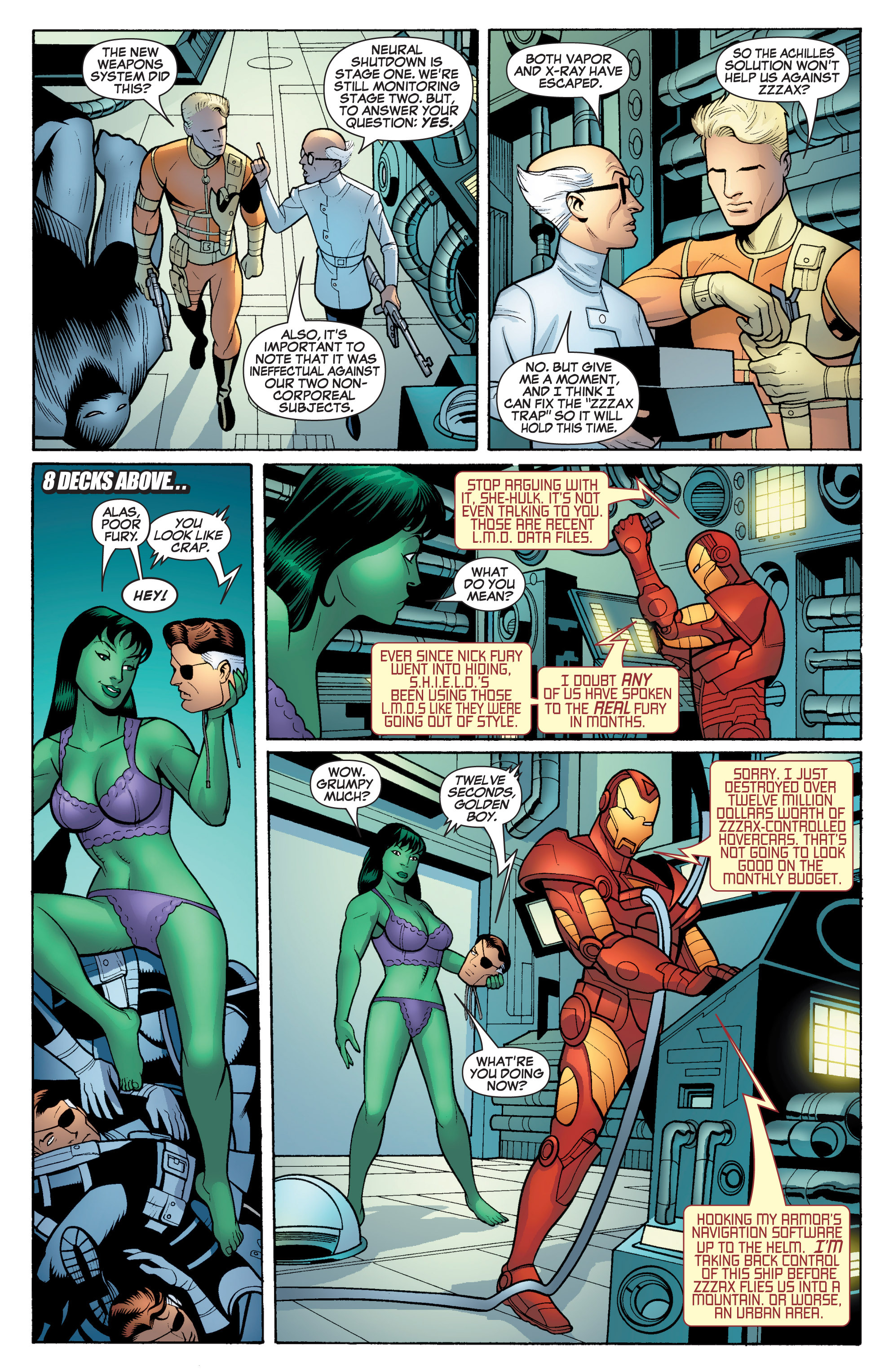 Read online She-Hulk (2005) comic -  Issue #17 - 19