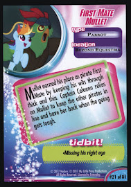 My Little Pony First Mate Mullet MLP the Movie Trading Card
