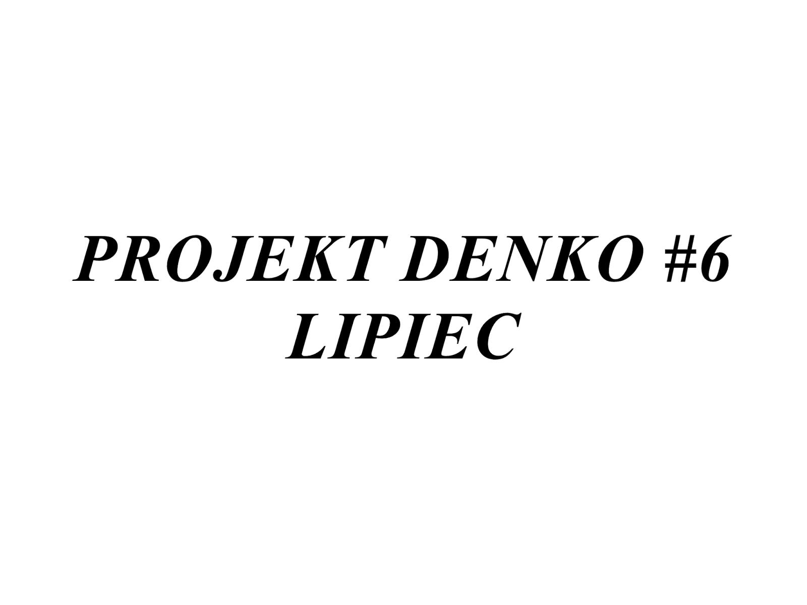 Projekt denko #6 | lipiec 2017
