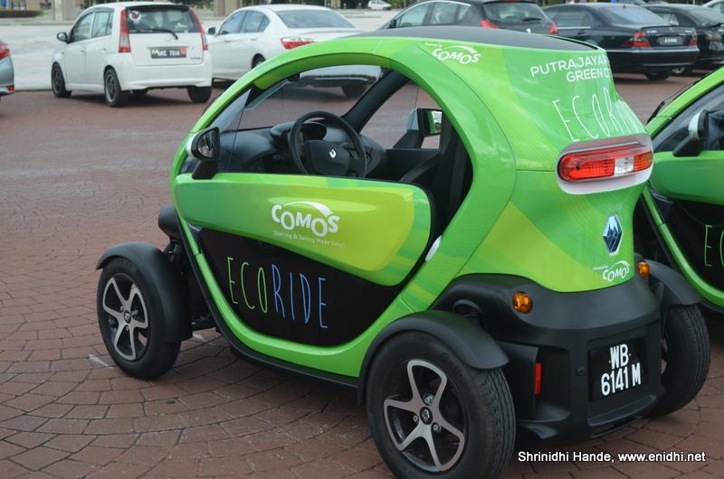 Zip Around In Renault Twizy In Putrajaya Enidhi India