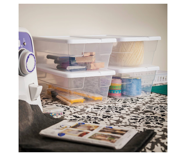 Target: Sterilite 6 Qt Clear Storage Boxes for only 84¢!