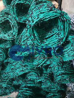 Kegunaan Kawat Duri PVC