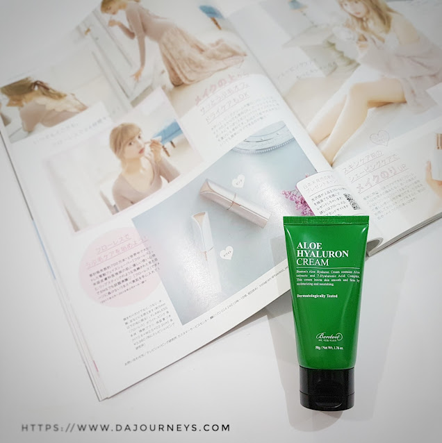 Review Benton Aloe Hyaluron Cream