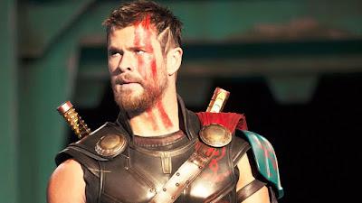 Thor Ragnarok luta Thor Deus Trovão Filme