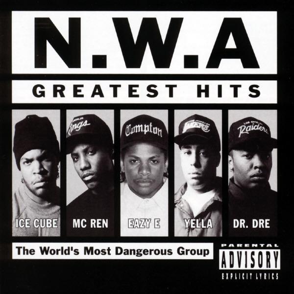 N.W.A. - N.W.A.: Greatest Hits Cover