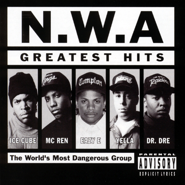N.W.A. - N.W.A.: Greatest Hits Cover