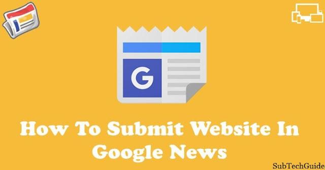 Google News Me Apani Website Ya Blog Submit Kaise Kare