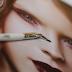 Nanshy, Precise Bent Eyeliner, Pędzel do kresek, EB-01 (Pearlescent White)