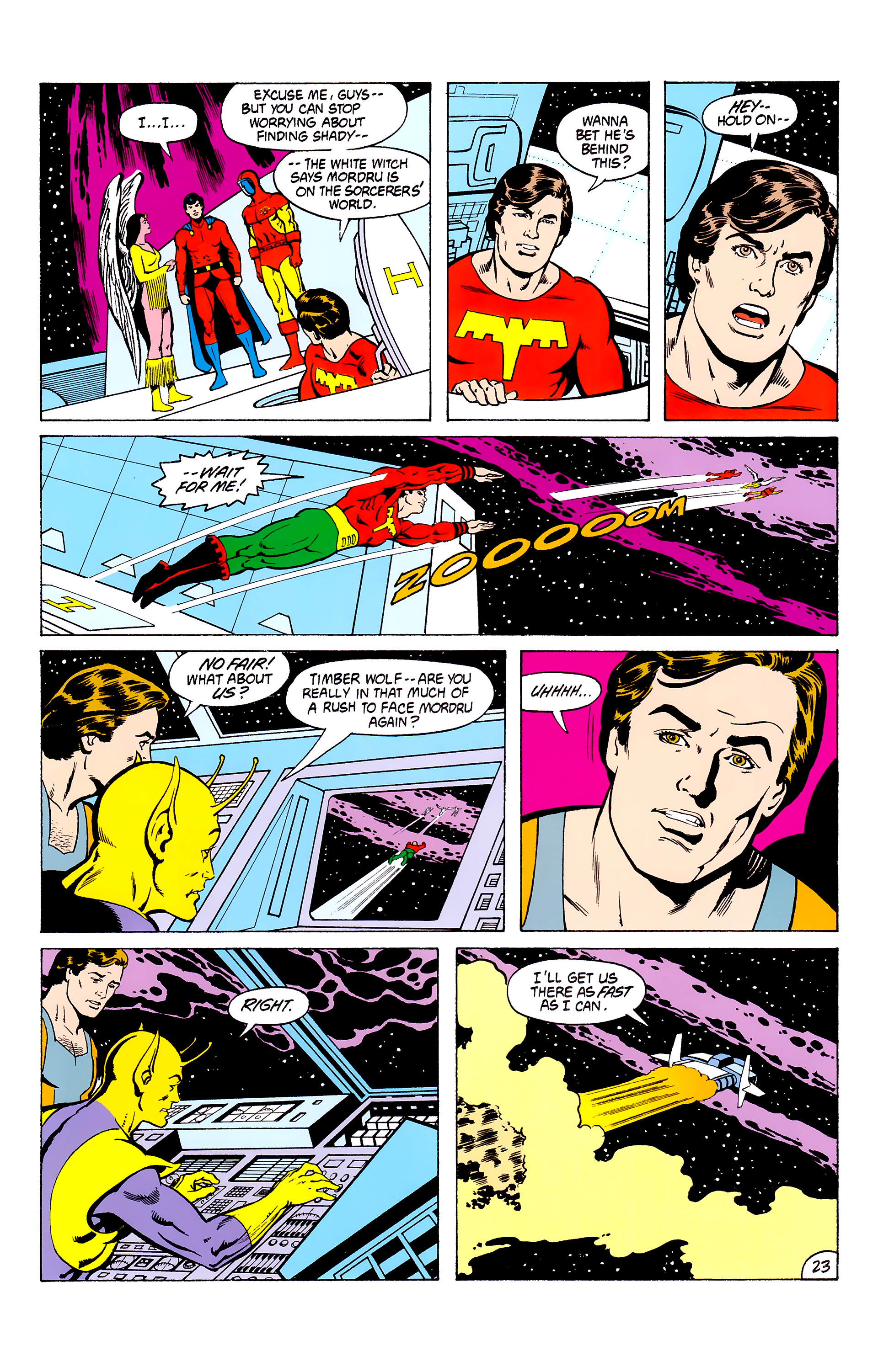 Legion of Super-Heroes (1980) _Annual_3 Page 23