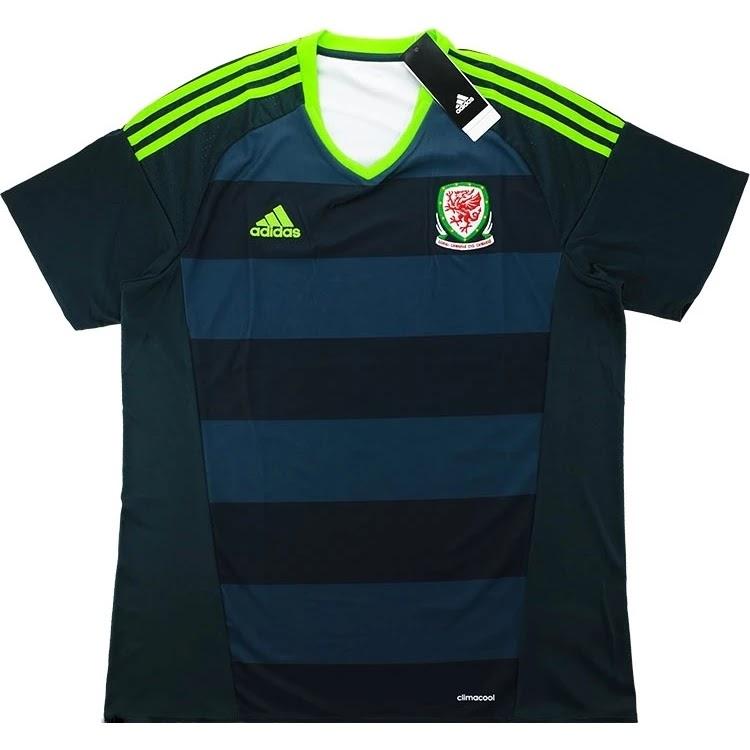 Adidas lança nova camisa reserva do País de Gales - Show de Camisas 83b4a71ee6a29