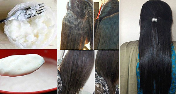 Straighten Your Hair Permanently With This Simple 4 – Ingredient Recipe!