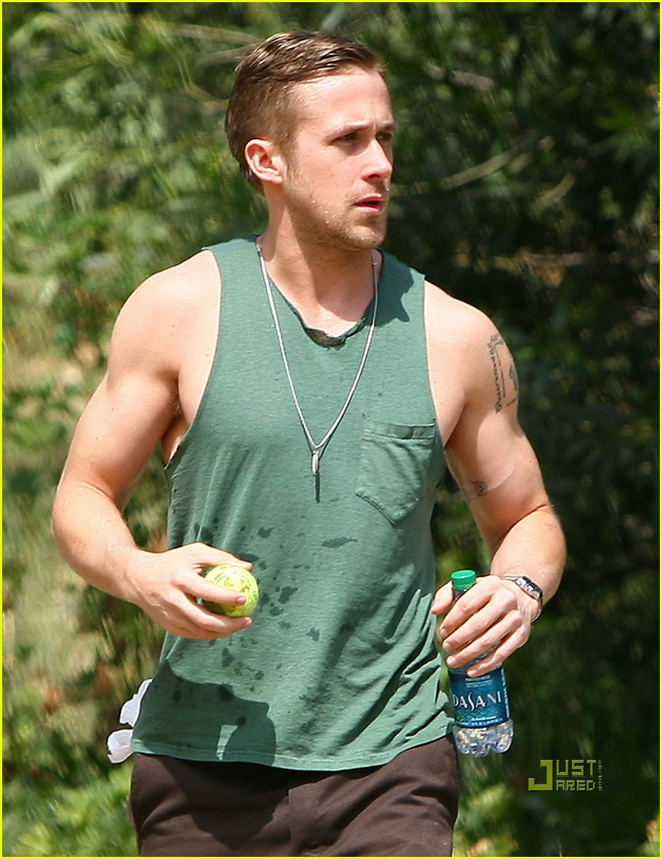 Ryan Gosling Christian Bale Steve Carell Cover New York: Gay Fish Out Of Water: Hottie Of The Day: Ryan Gosling