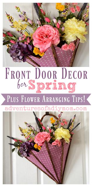 Front Door Spring Decoration