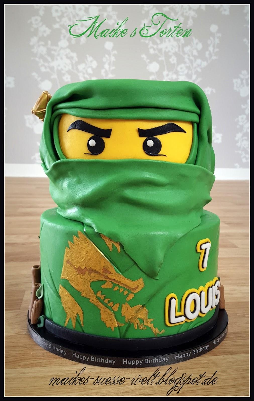 Maikes se Welt Lego Ninjago Torten