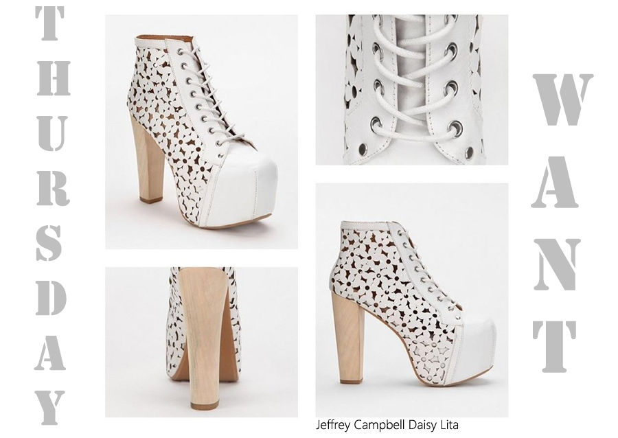 Thursday Want: Jeffrey Campbell Daisy Lita