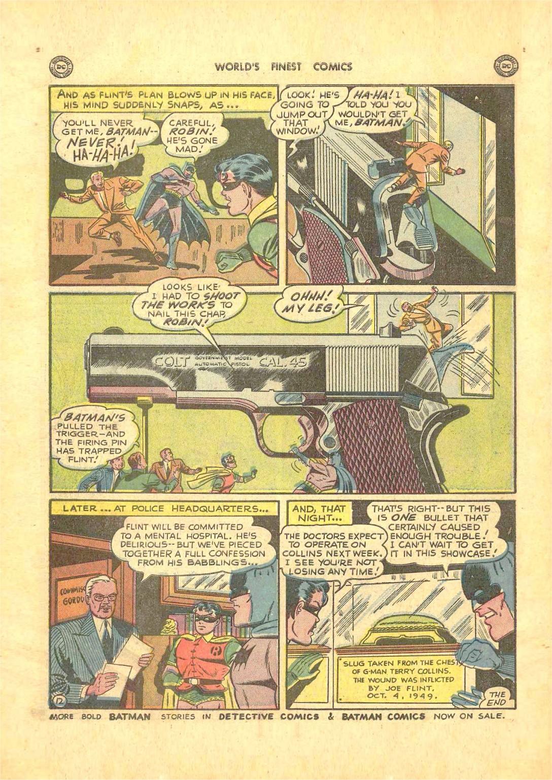 Read online World's Finest Comics comic -  Issue #50 - 74
