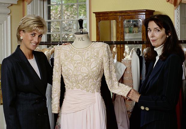 My treasured Catherine Walker dress