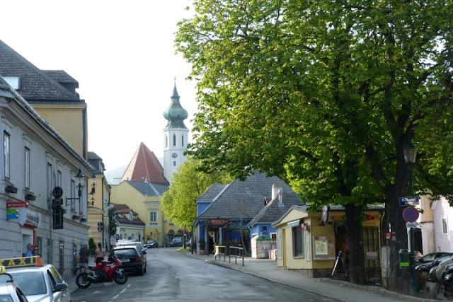 Wenen - Heurigen in Grinzig