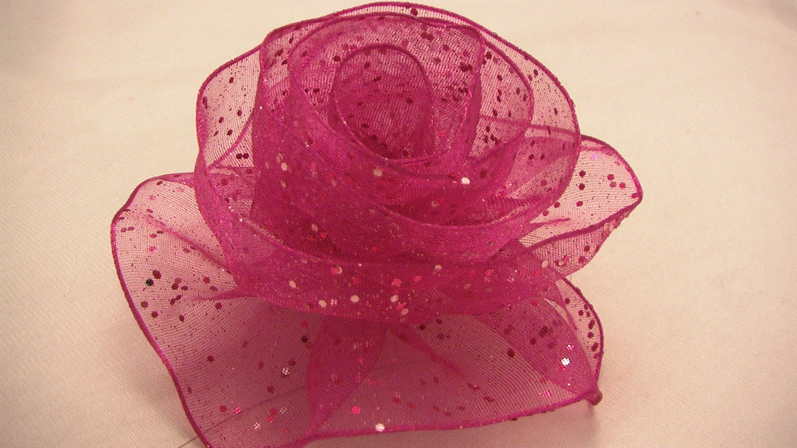 How To Make A Paper Ribbon Rose