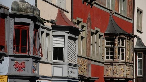 Briciole di vita gita in svizzera terza parte - Muri esterni decorati ...