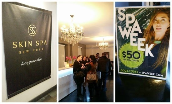 Skin Spa Party Recap for Spa Week 2015