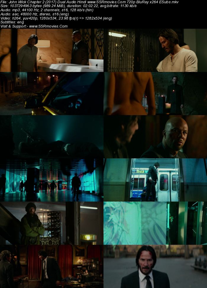 John Wick: Chapter 2 (2017) Hindi 480p 720p BluRay Dual Audio Full Movie Download