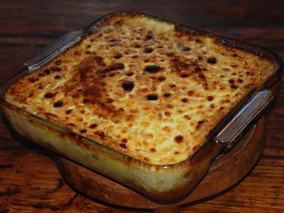 recette Hachis Parmentier de bœuf, sauce roquefort