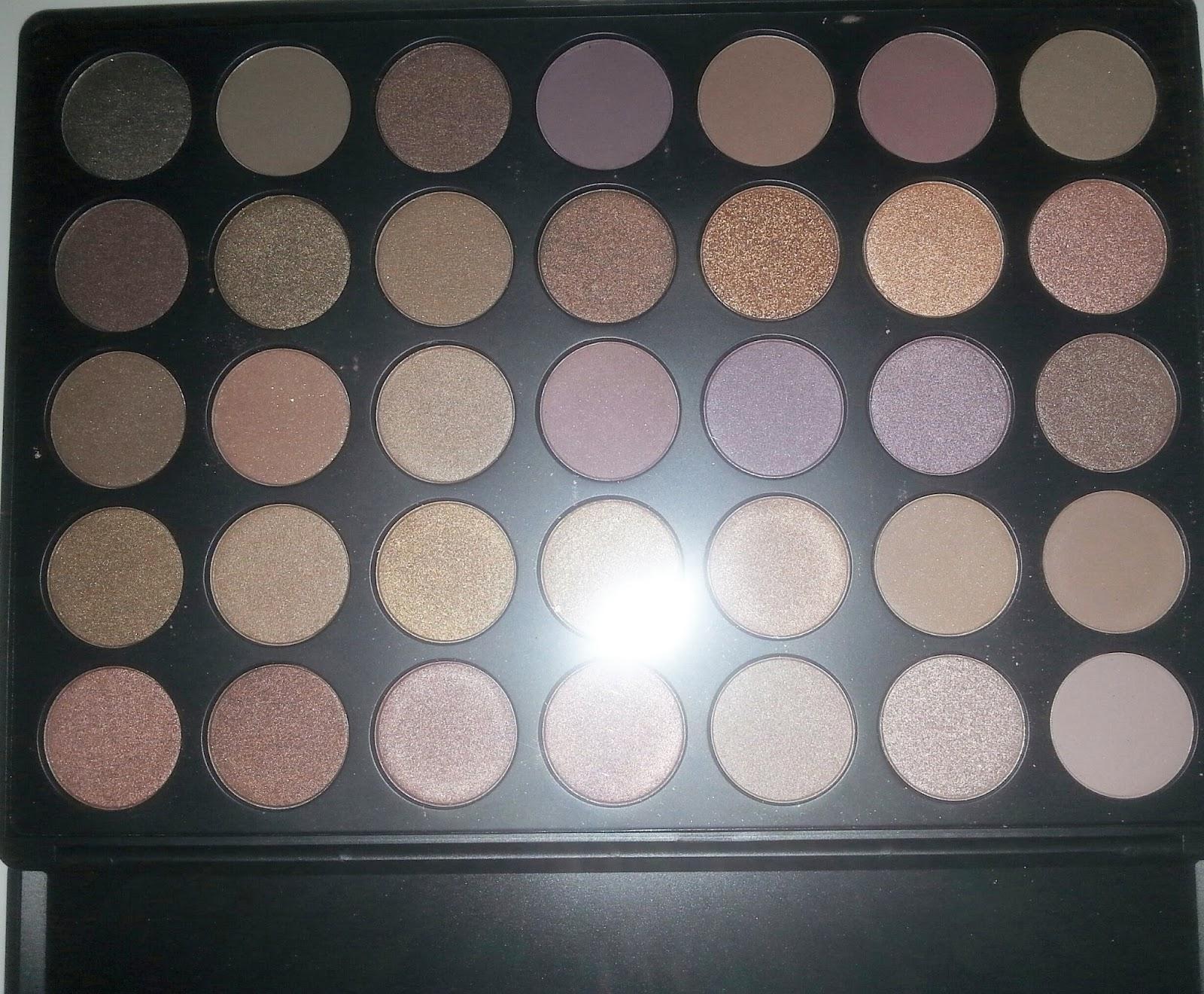 Black Beauty Skin: Palette Morphe 35 Taupe